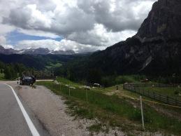 Descenso Passo Gardena. Calfosch