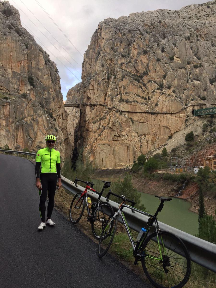 Ruta en bicicleta por Ardales-Caminito del Rey